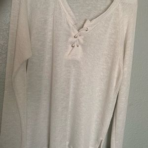 Other - XL Beach Style White Shirt/Coverup